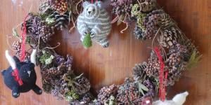 10 decorazioni di Natale a maglia e all'uncinetto