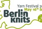 Il logo del Berlinknits di maggio