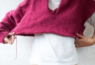 La tensione è tutto! Foto di Aroha knits.