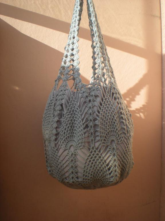 Pineapple Bag: modello di borsa di EmmHouse come regalo di Natale