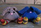 coniglietti a maglia